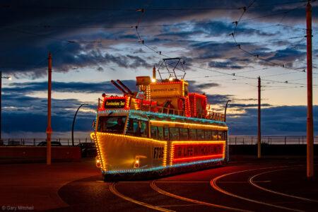 HMS Blackpool at Pleasure Beach